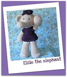 Elsie  amigurumi crochet pdf pattern by madisonscraftnook on Etsy, $4.99