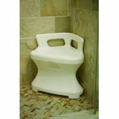 Corner Shower Seat by Maddak Inc. - Price ( MSRP: $ 192.85Your Price: $111.65Save up to 42% ).