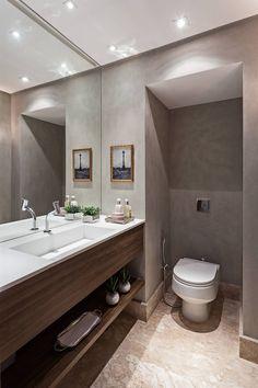 Apartamento MA: Banheiros modernos por BEP Arquitetos Associados