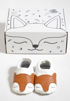 "First baby Shoes ""Fox"""