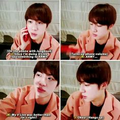 NO. IT. WAS. NOT. Jin-ahh we love you