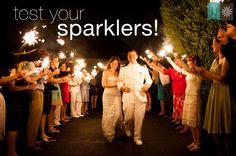 Rebekah Hoyt Photography - Rebekah Hoyt Blog - Wedding Inspiration:Sparklers!