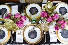 pink + gold by Gray Harper Event Maker
