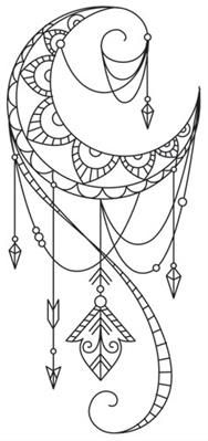 Talisman - Draping Crescent_image                                                                                                                                                                                 More
