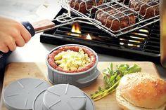 Stuff-a-burger press | 20 Grilling Gadgets