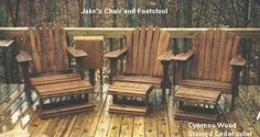 Jake's Chair - DIY Plans for Adirondack Chair
