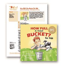 Encourage Others Lesson Plans: How Full is Your Bucket? For Kids.  Packed with printable activities and matching display.