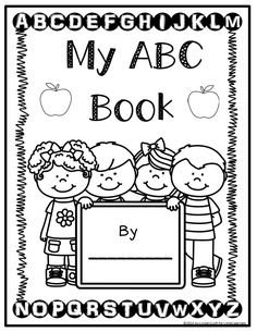 These alphabet coloring printables are an excellent resource to review letters and sounds and would also be a great supplement to letter of the week activities.