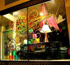Claassen Gallery Window Display - August 2010 by jeffclaassen, via Flickr