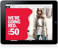 WE Fashion - Sale Campaign by Frank Dresen, via Behance