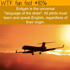 Language of the skies - WTF fun fact