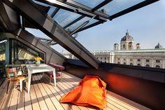 Roof construction Bellariastraße, Vienna | Interior | Projects | BWM Architekten
