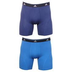 Adidas Men's Sport Performance Climalite Pack of 2 Boxer Brief,  Assorted Cardinal/Dark Indigo, Small Lightweight, ultra-soft fabric designed to keep you cool and dry for everyday use, working out, and sports. Climalite technology helps keep you cool and dry. Matches to adidas apparel colors. Stitch color may vary.