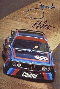 Bmw Sport, Sport Cars, Race Cars, Motor Sport, Bmw E9, M Bmw, Hans Joachim Stuck, Bmw Motorsport, Le Mans