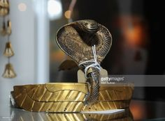 Actress Claudette Colbert Cleopatra headdress on display during Julien's Auctions Hollywood Legends 2014 press preview day at Julien's Auctions Gallery on April 7, 2014 in Beverly Hills, California.