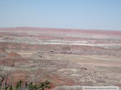 Painted Desert in Petrified Forest National Park, Arizona - beautiful and haunting