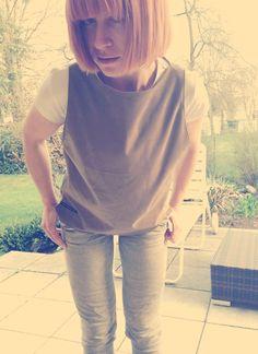 leather top, handmade fashion - made in bavaria http://upper-palatinate-rocks.blogspot.de/2015/04/women-2015-ledertop-beige.html