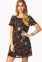 Down-to-Earth Smock Dress - F 21