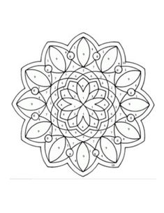 diwali craft printable design patterns rangoli design coloring