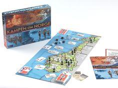 Kampen om Norge board game ‹ Eivind Vetlesen : Graphic Design & Illustration