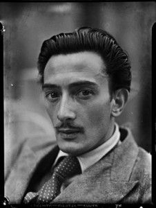 """I don't do drugs. I AM drugs."" - Salvador Dali - He looks so like Adrien Brody does in Midnight in Paris. :)"