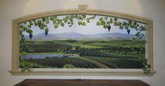 Tuscany mural by Jeff Raum