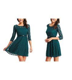 Elegantes Kleid im Spitze-Look