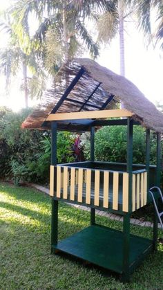 PALLET CUBBY HOUSE Posted 40 days ago by Neokentin We spent the school holidays dismantling three pallets (and using an entire one) as materials for building this cubby house. Total cost is approximately AU$120 (paint, roofing material, staple gun, screws). It was a great 4 days working with my dad and my 6 and 9 year old boys to build this cubby house that the kids enjoy.