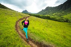 Sally Fitzgibbons includes early-morning runs, stretching, and weights in her cross-training routine. Photo courtesy Roxy.com