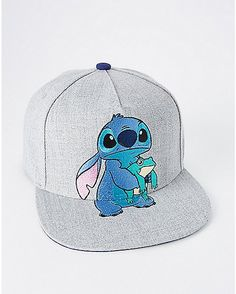 7a881237c1f Stitch Frog Snapback Hat - Lilo   Stitch - Spencer s