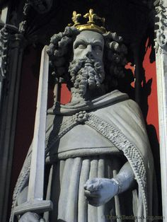 Effigy of Edward I in York Minster.
