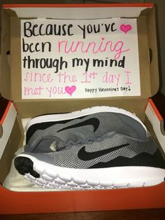 Sneakers with a message