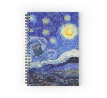 'Starry Night Inspiration Tardis Time Machine' by Angelinas Impressionist Artists, Post Impressionism, Museum Of Modern Art, Vincent Van Gogh, Tardis, My Arts, Fine Art, Art Prints, Artwork