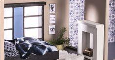 Askartele nukkekotiin soma takka. Takkapuut on helppo katkoa kuivasta oksasta. Katso Unelmien Talo&Kodin ohje! Bean Bag Chair, Diy, House, Furniture, Decoration, Interior, Home Decor, Miniatures, Decor
