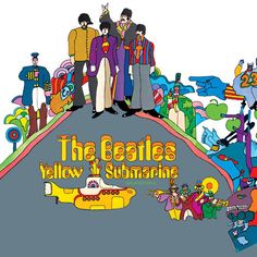 The Beatles - Yellow Submarine  Apple Records PCS 7070 - Enregistré de mai 1966 à février 1968 et en octobre 1968 - Sortie le 13 janvier 1969  Note: 4/10