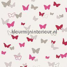 Esprit vlinders fuchsia behang 302892 meisjes AS Creation