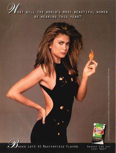 Kathy Ireland baked lays ad