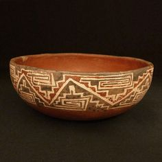 The pieces in our Pre-Columbian art collection are grouped by cultural area. Here you'll find a selection of those pieces. Native American Pottery, Forging Metal, Inca, Native Art, Porcelain Ceramics, Archaeology, Terracotta, Decorative Bowls, Culture