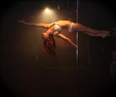 Jenyne Butterfly, world pole dancing champion