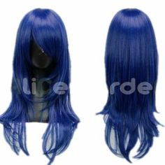Long Blue Cosplay Wig Hake Ya ,DOLLS Special Punishment Forces COS wig (blue) by GOOACTION. $22.99. *Package: 1 wig + 1 free wig cap. *The size is adjustable,it can fit on most people.you can adjust the hooks inside the cap to the correct size to suit your head.. * Easy to care for and Wash. Wash with normal shampoo in warm but not hot water. Shake off excessive water, wipe with a tower, and dry in air.. *100% Top Quality & Brand NEW. 100% Japanese Kanekalon (hig...