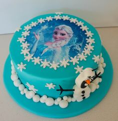 Princess+Elsa+Cake | Elsa Frozen Princess