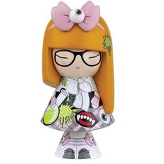 Kokeshi Poupée Japonaise 10 cm Love Frankie by Kimmidoll NEW Momiji Doll, Kokeshi Dolls, Blythe Dolls, Dolls Dolls, Rag Dolls, Monster Dolls, Doll Stands, Painting Patterns, Hello Kitty