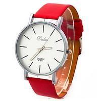 Buy Women's Round Dial PU Band Quartz Analog Wrist Watch(Assorted Colors) Cool Watches Unique F Women's Watches, Cool Watches, Cool Stuff, Stuff To Buy, Quartz, Delivery, Range, Store, Colors