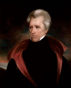 Official White House Portrait of Andrew Jackson - 7th President of the United States