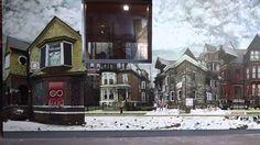 Exposition Détroit /lille3000: Installation hyperphotographique sur 160m!