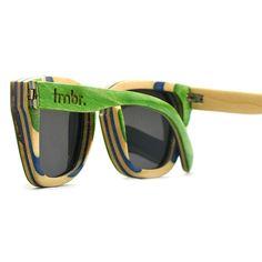 Arce verde madera gafas de sol gafas de madera de 7 por tmbrwood