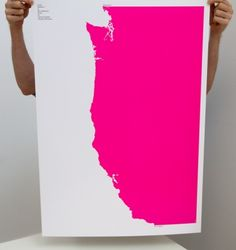 west coast: i don't know why i love maps right now but they are great