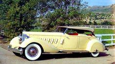 1934 Packard LeBaron Dual Cowl Phaeton