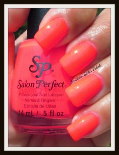 Southern Sister Polish: Salon Perfect Neon Pop Collection - Haute Pink