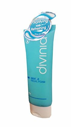 2 packs of Divinia Gentle Facial Foam Thorough cleansing Nongreasy and easy to rinse 100 g pack * More info could be found at the image url.